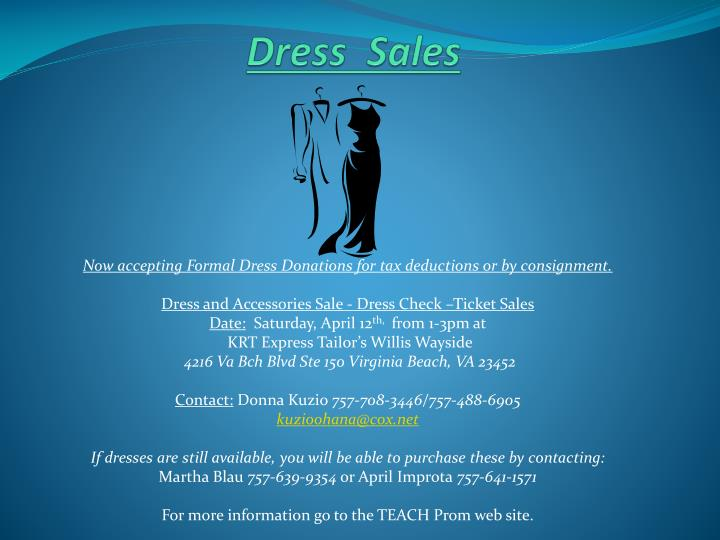 Dress  Sales