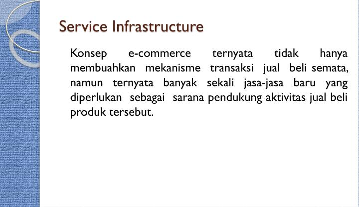 Service Infrastructure