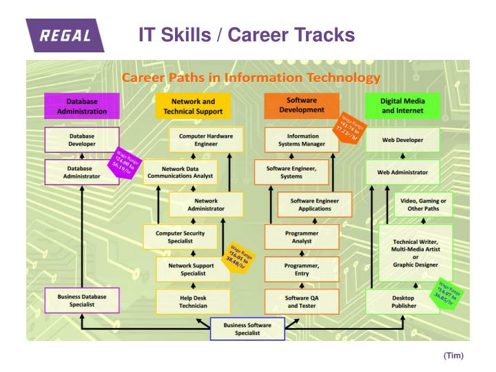 IT Skills / Career Tracks
