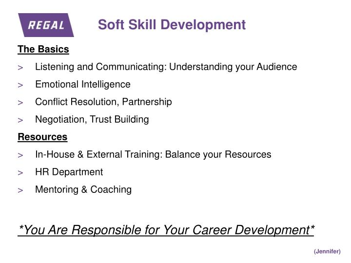 Soft Skill Development