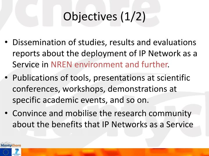 Objectives (1/2)