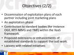 objectives 2 2
