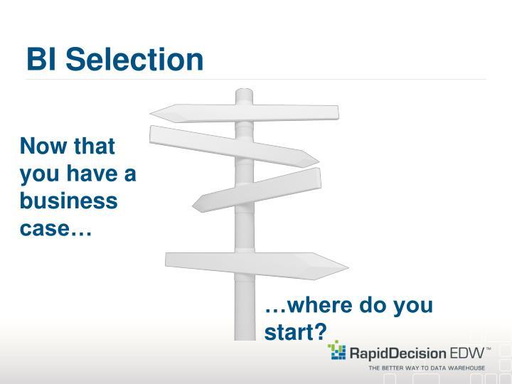 BI Selection