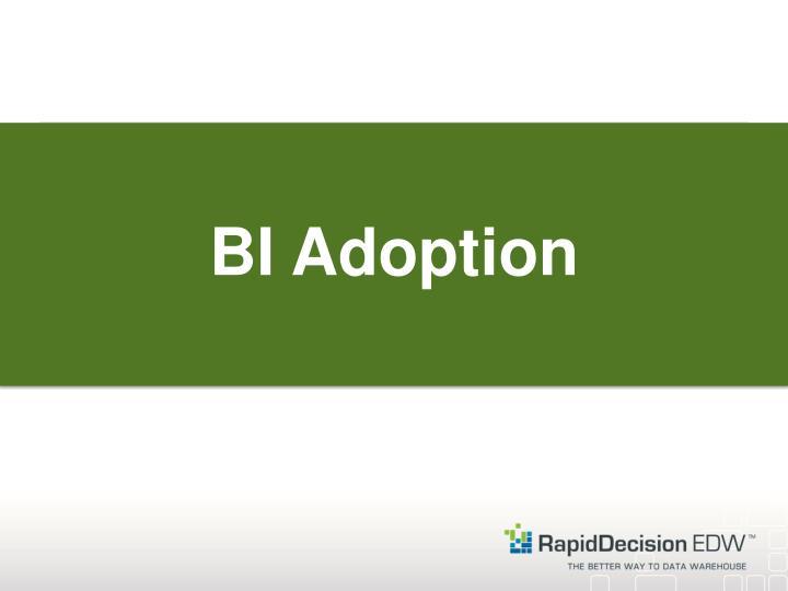 BI Adoption