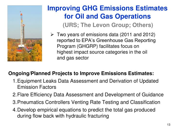 Improving GHG Emissions Estimates