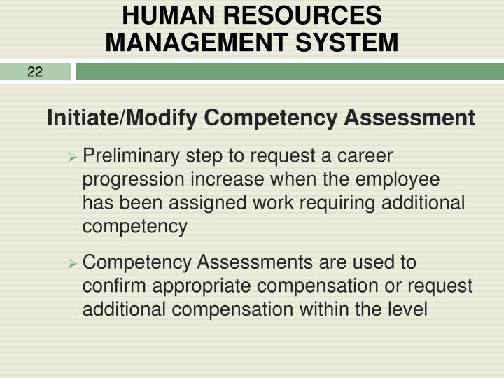 HUMAN RESOURCES        MANAGEMENT SYSTEM