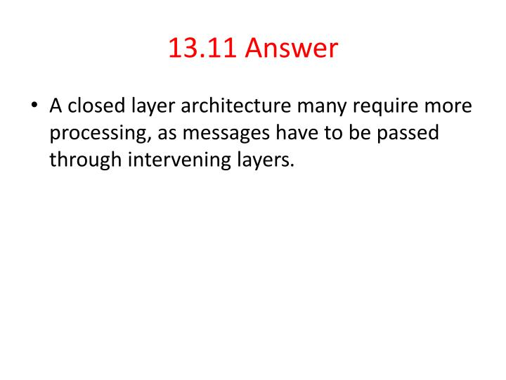 13.11 Answer