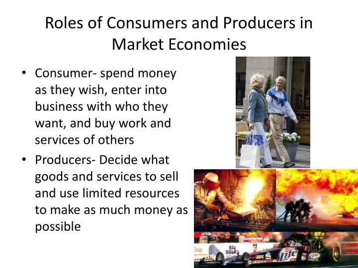 Roles of Consumers and Producers in Market Economies