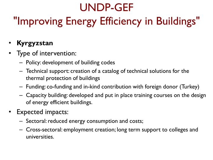 UNDP-GEF