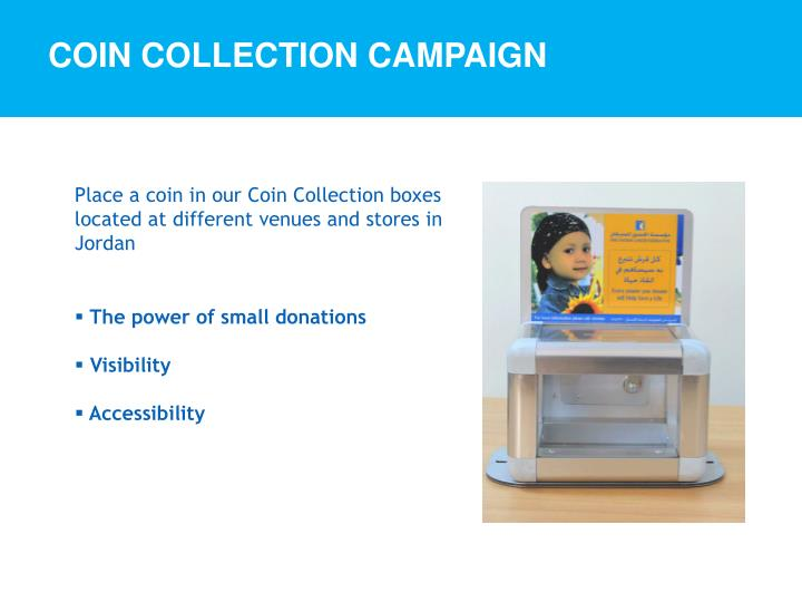 Coin Collection Campaign