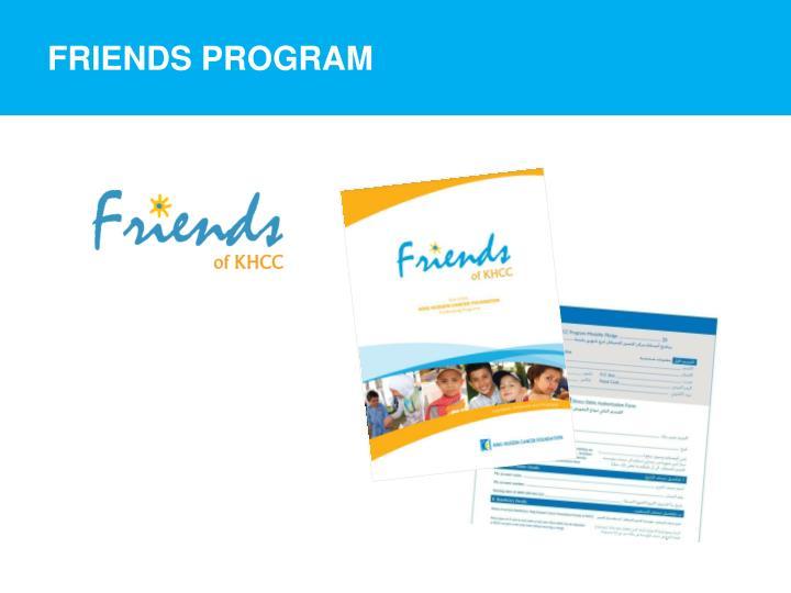 Friends Program