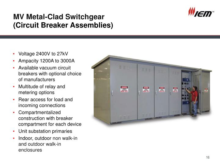 MV Metal-Clad Switchgear