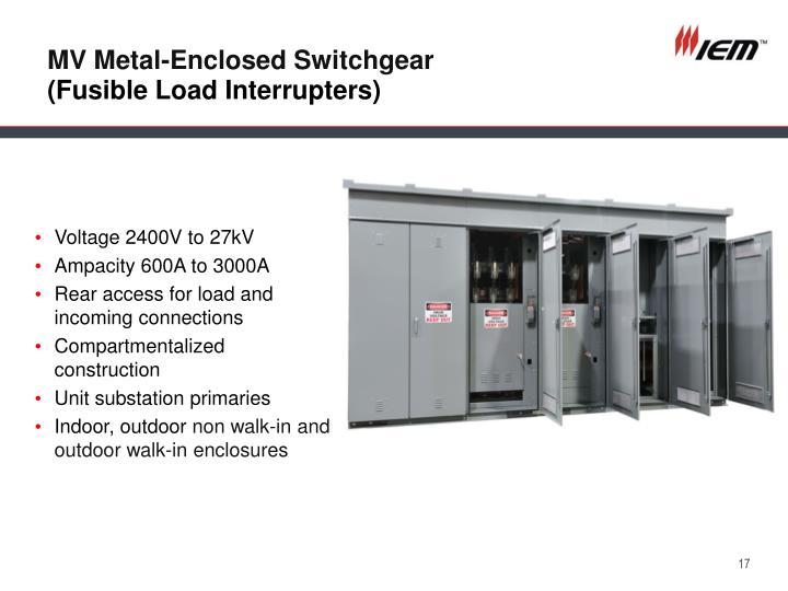 MV Metal-Enclosed Switchgear