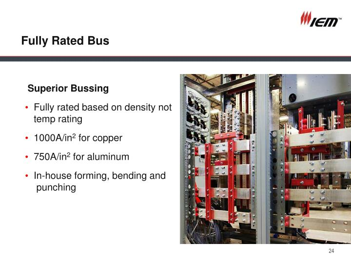 Fully Rated Bus
