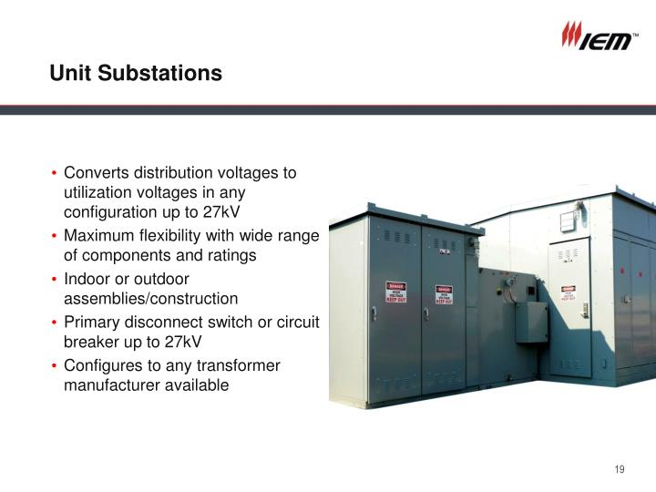 Unit Substations