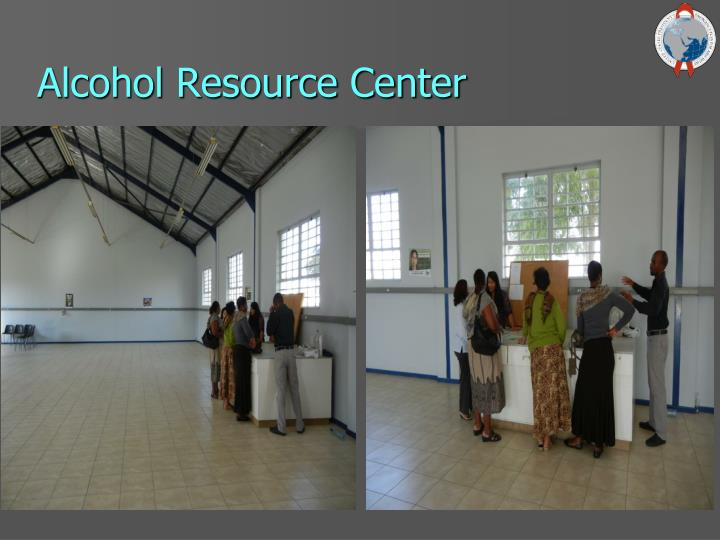 Alcohol Resource Center