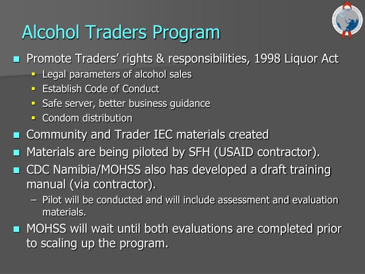 Alcohol Traders Program