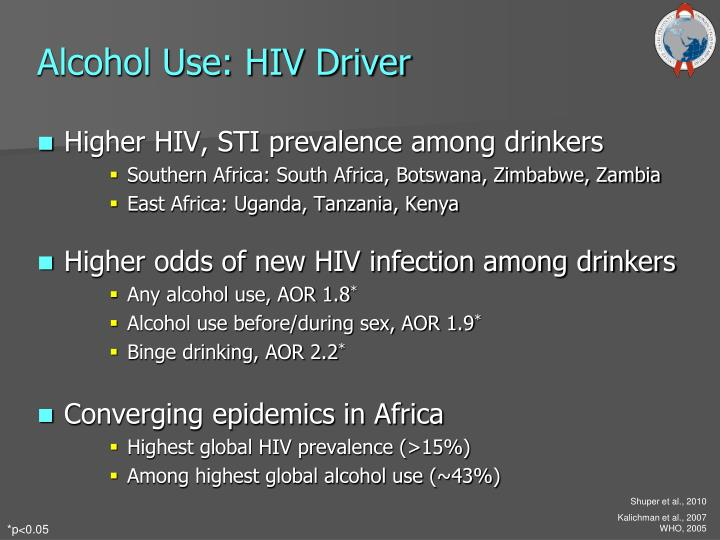 Alcohol Use: HIV Driver