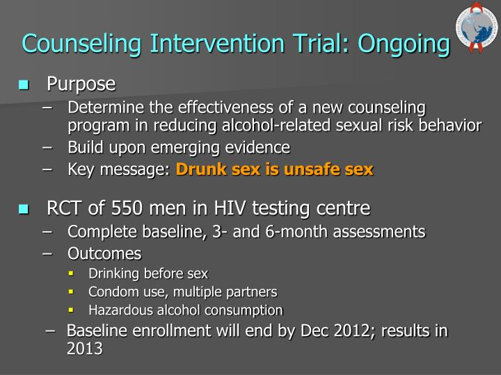 Counseling Intervention Trial: Ongoing