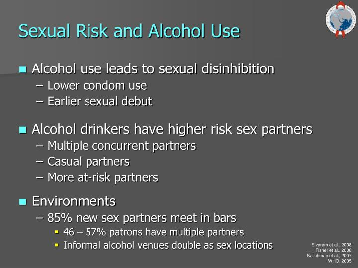 Sexual Risk and Alcohol Use