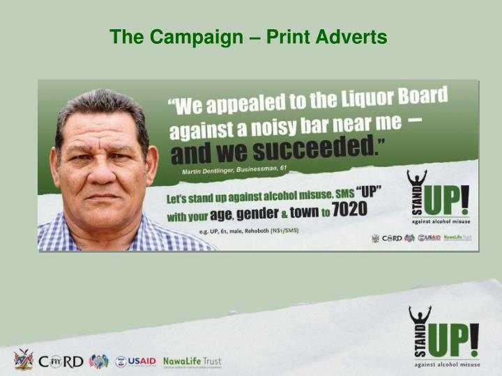 The Campaign – Print Adverts