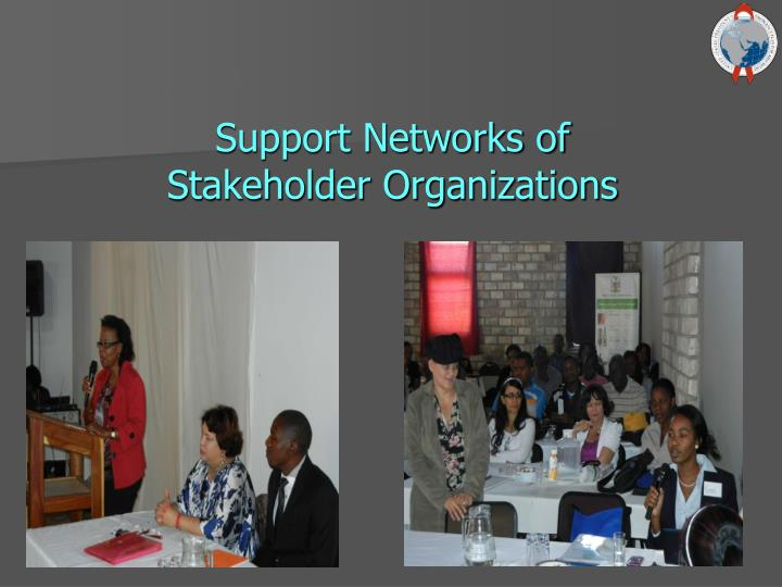 Support Networks of
