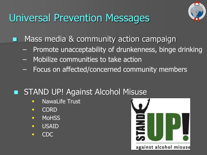 Universal Prevention Messages