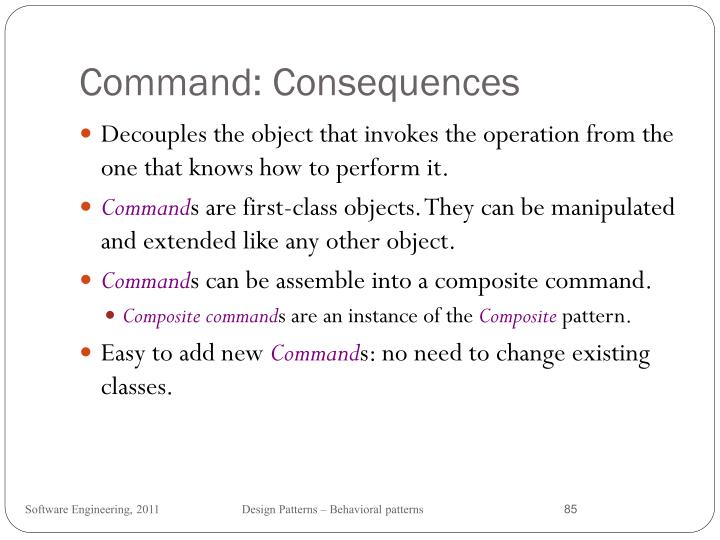 Command: Consequences