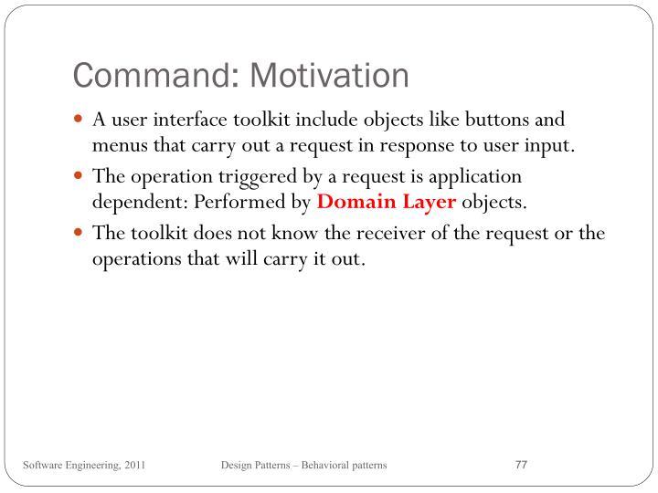 Command: Motivation