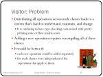 visitor problem