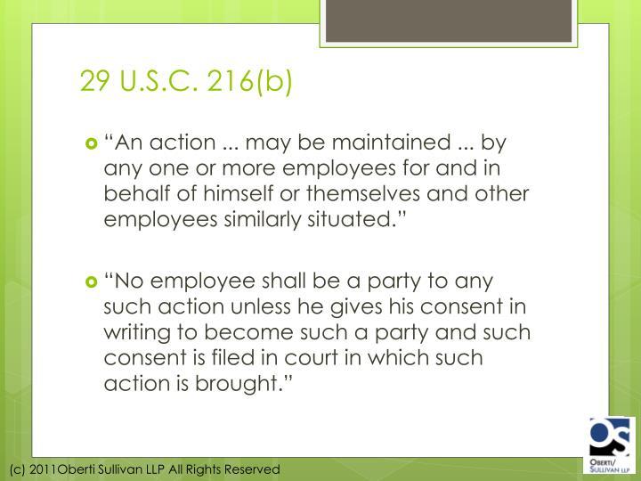 29 U.S.C. 216(b)