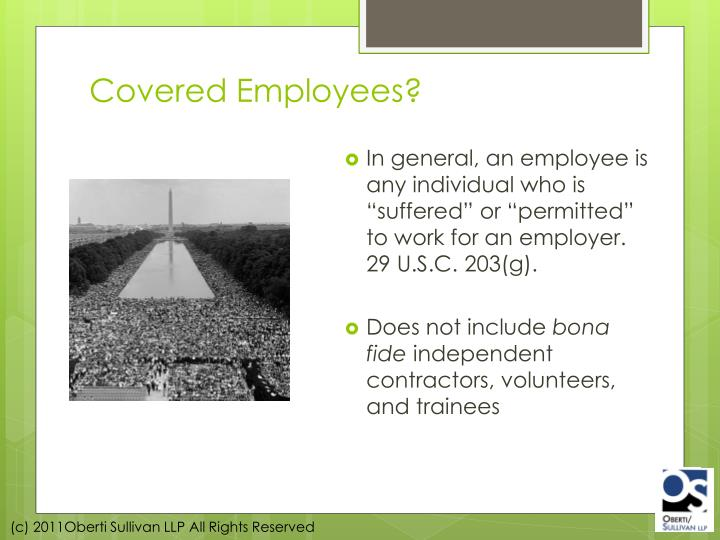 Covered Employees?