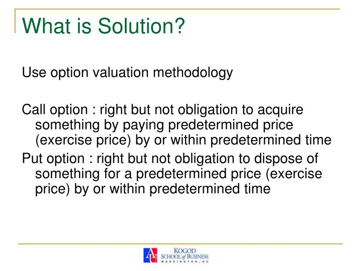 What is Solution?