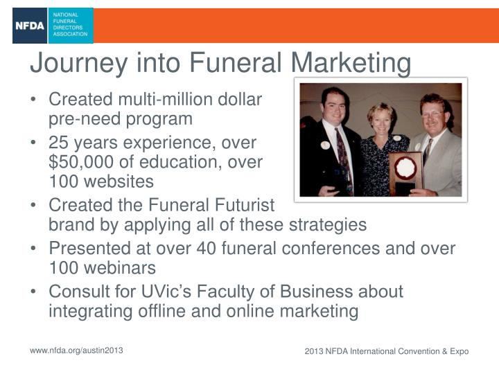 Journey into Funeral Marketing