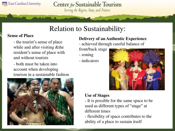 Relation to Sustainability: