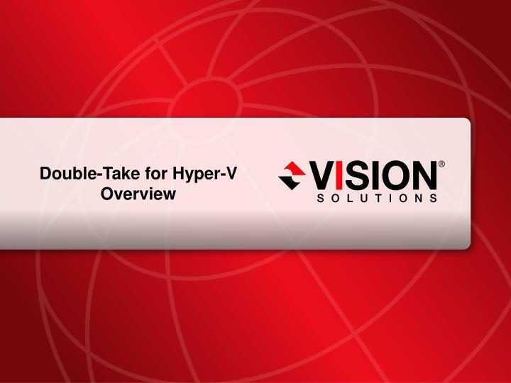 Double-Take for Hyper-V