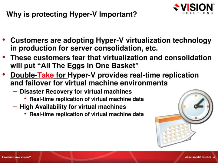 Why is protecting Hyper-V Important?