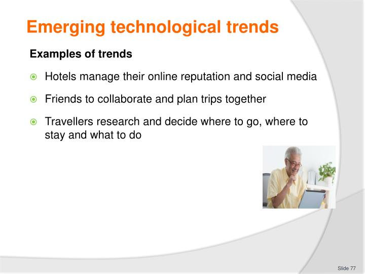 Emerging technological trends
