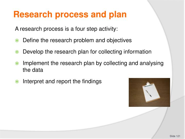 Research process and plan