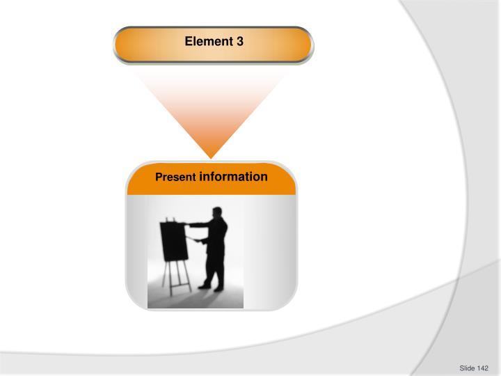 Element 3