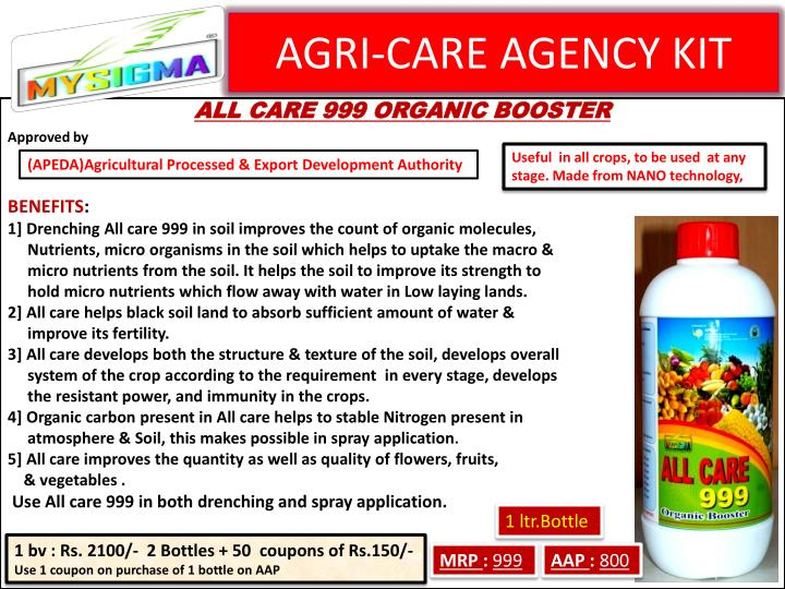 AGRI-CARE AGENCY KIT