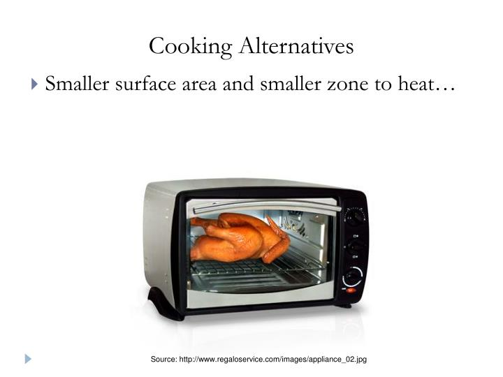 Cooking Alternatives
