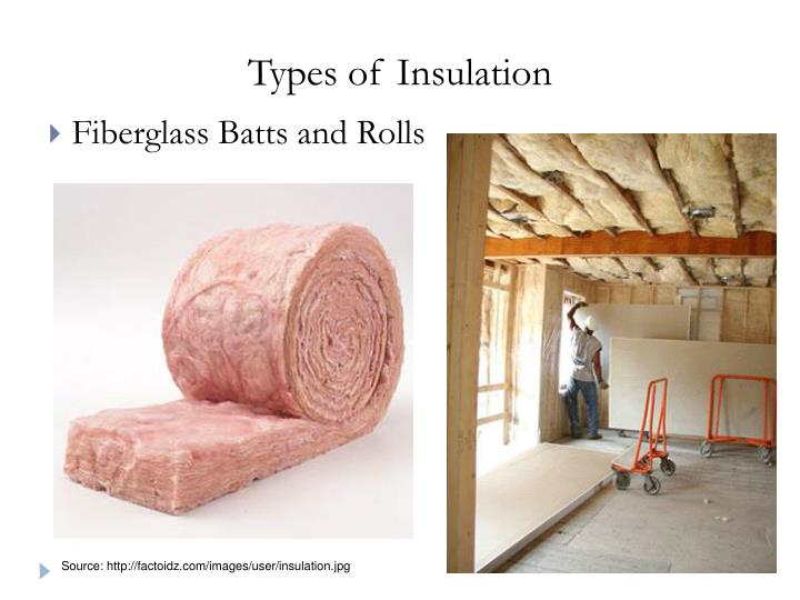 Types of Insulation