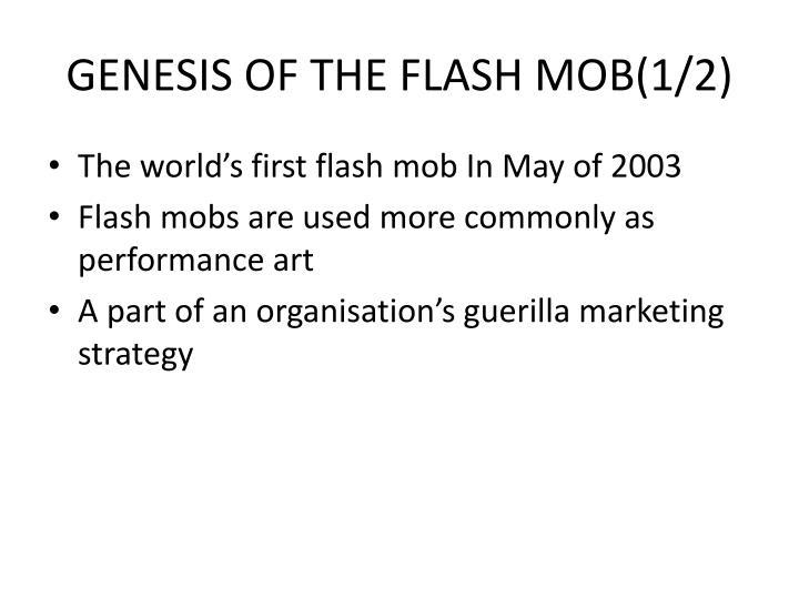 GENESIS OF THE FLASH