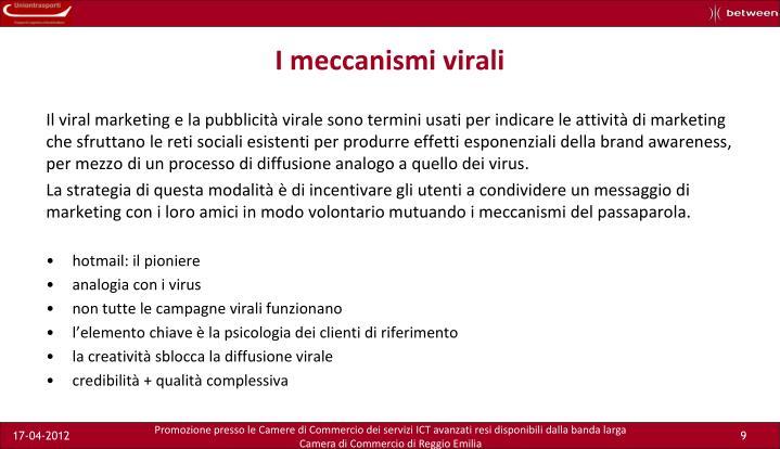 I meccanismi virali