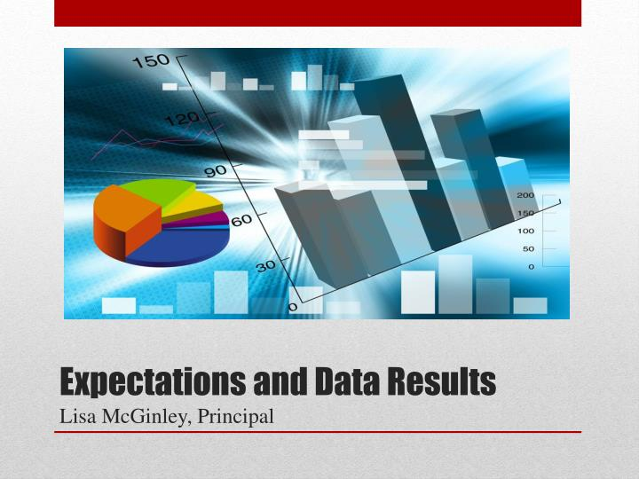 Expectations and data results lisa mcginley principal