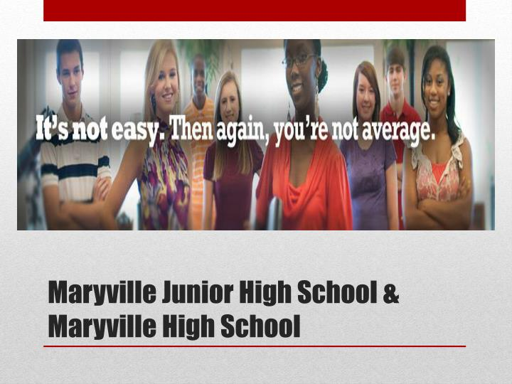 Maryville Junior High School &