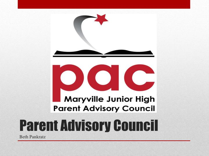 Parent Advisory Council