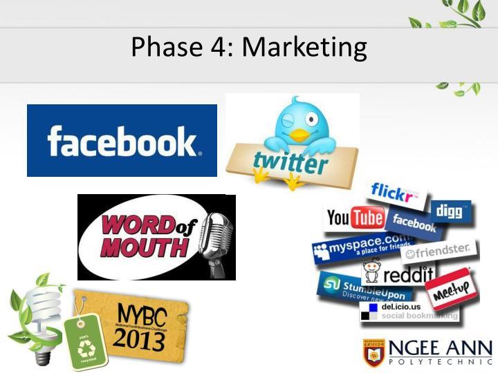 Phase 4: Marketing