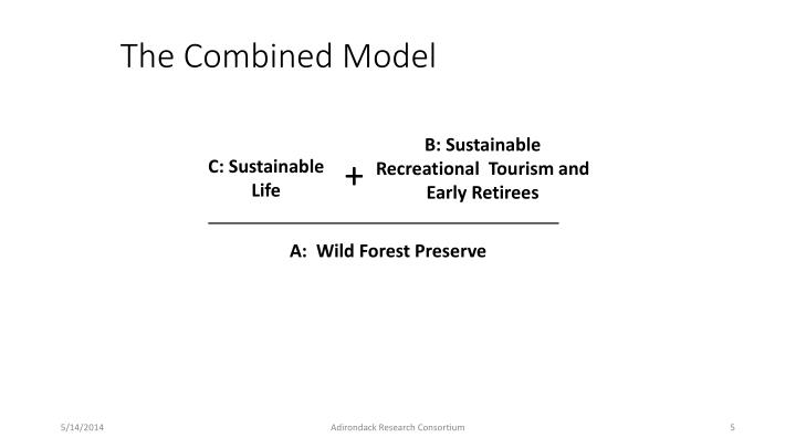 The Combined Model